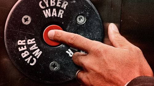 Cyber war button