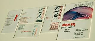 Mike Business Cards 1992 - 2012
